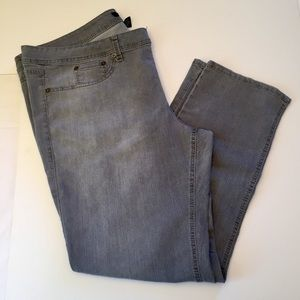 a.n.a pull on gray jeggings